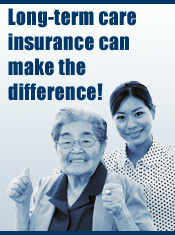Long Term care insurance can make the difference!